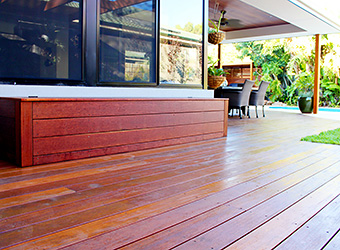 View our decking services