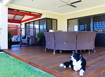 Read about our decking products and servcies